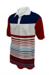 Sublimation Striped Polo